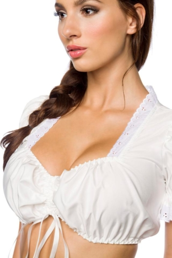 classic Dirndl blouse
