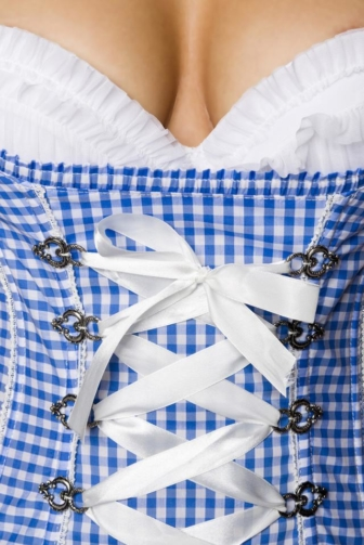 bavarian corsage with push up