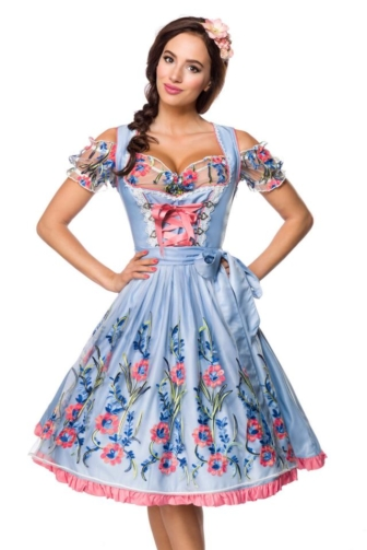 romantic Dirndl incl. blouse with lace