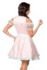 Mini-Brokat-Dirndl incl, blouse with lace