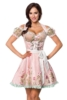 Mini-Brokat-Dirndl incl, blouse with lace